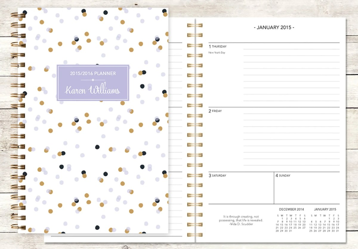 posy paper co planner