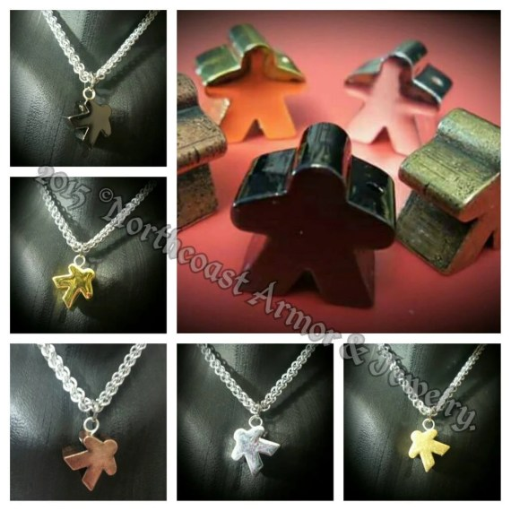 meeple necklace