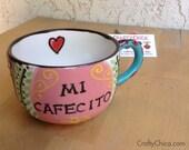 Ceramic Latte Mug MEXI-BO...