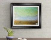 Ocean Serenity Signed Art Print of Signature Original By Rafi Perez