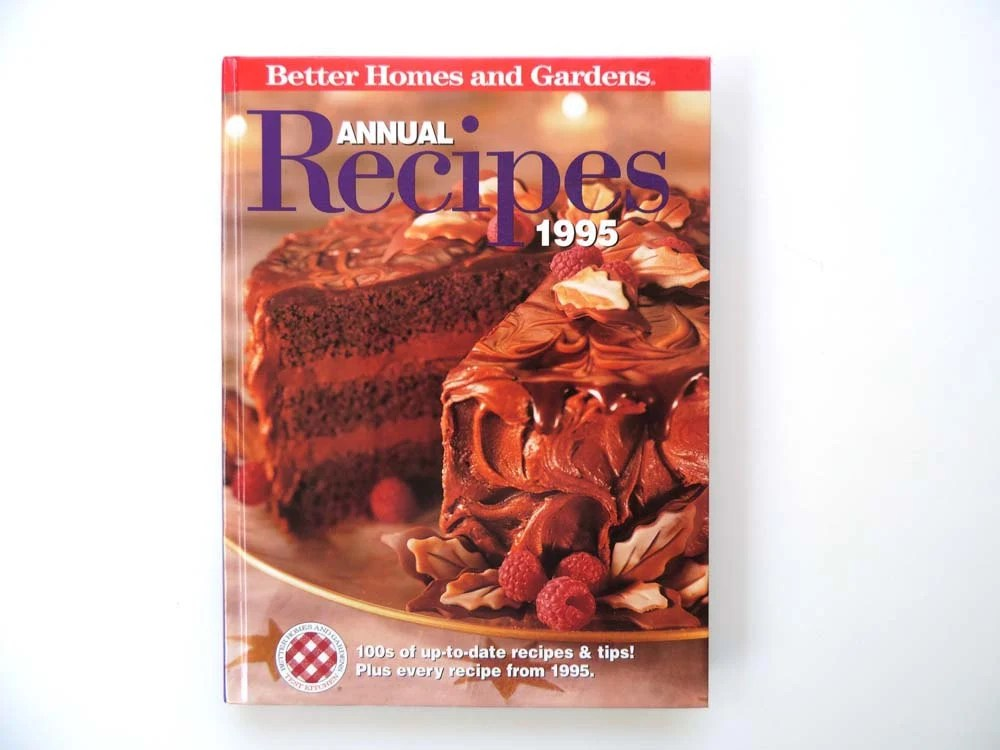 Cookbook Better Homes And Gardens 1995 Annual Recipes By