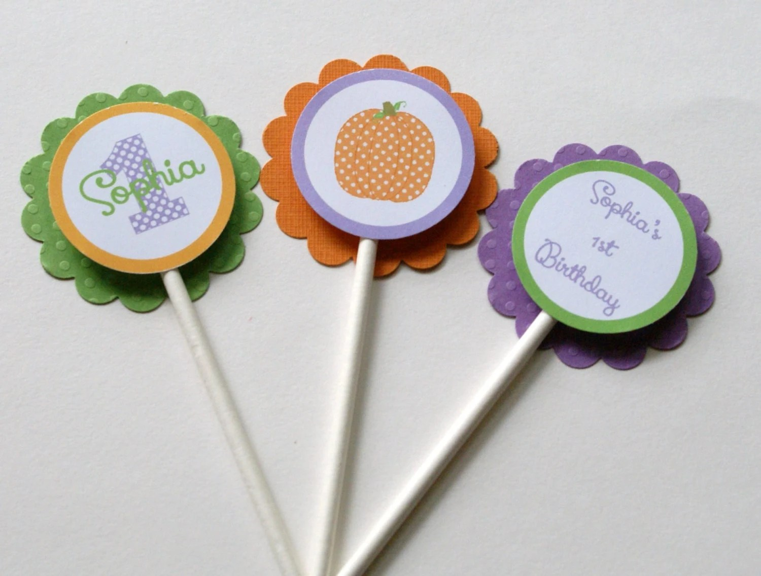 Mod Owl Boy Cupcake Toppers 24 Owl Cupcake By