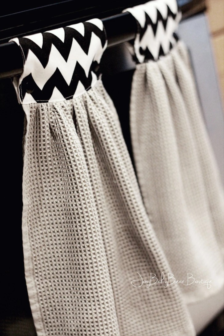 Hanging Kitchen Towel Hand Joybabybear