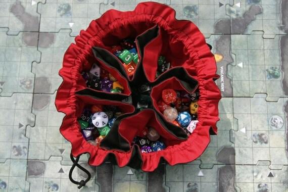 Colossal Bag of Many Dice 6 pockets