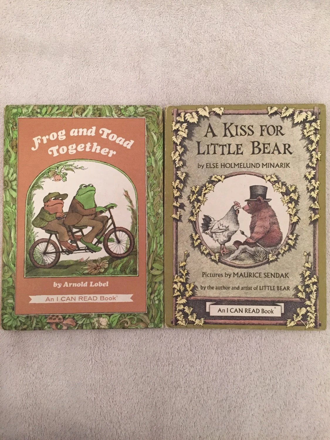 Frog And Toad Together Amp A Kiss For Little Bear Vintage Books