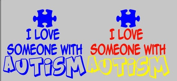 Download I Love Someone with Autism Autism Awareness by ApareciumDesign