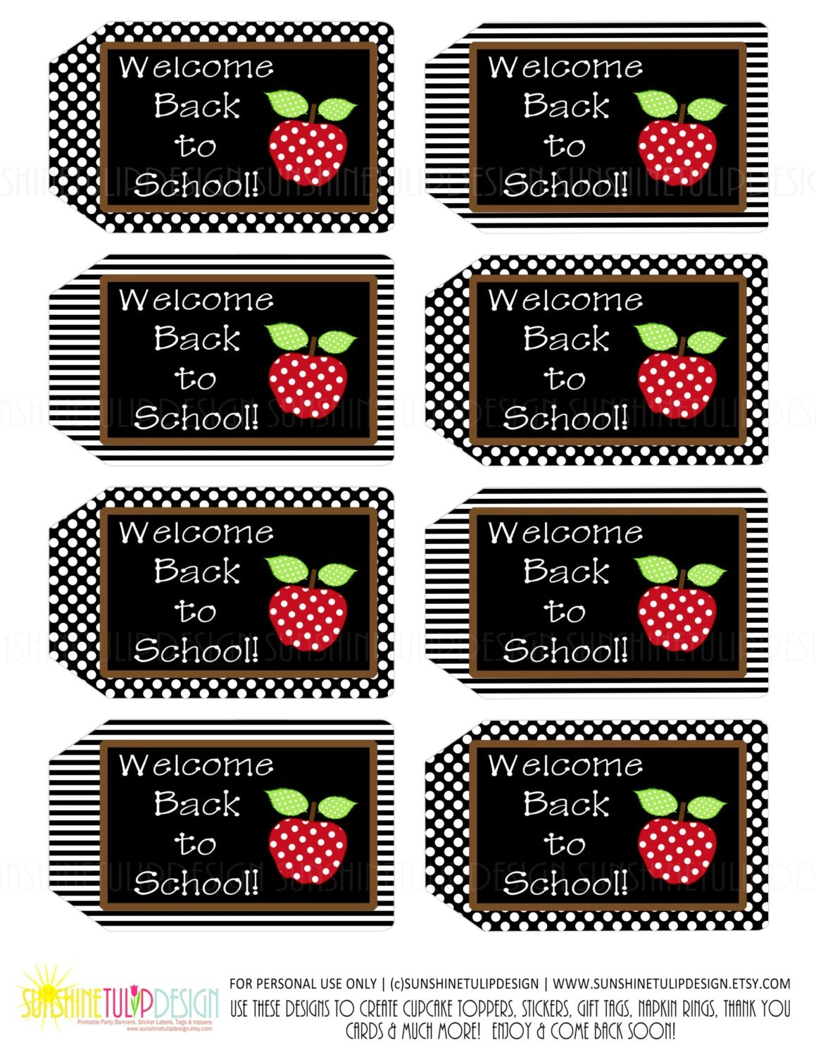 Printable Teacher Appreciation Welcome Back To School T