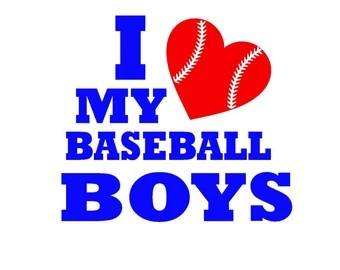 Download There's No Crying in Baseball SVG Print or Silhouette