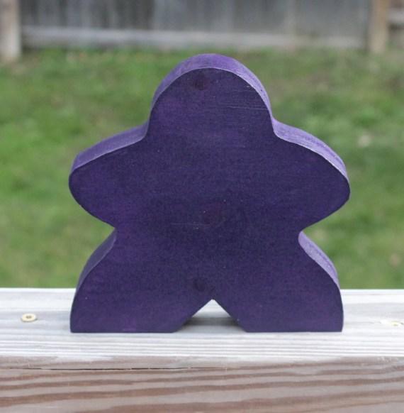 6 inch Purple Meeple
