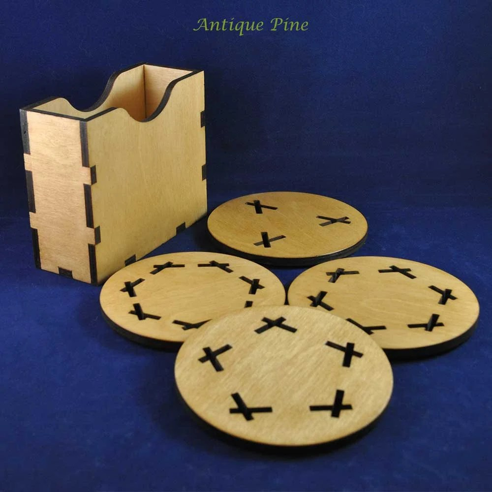 Geometric Coasters (set o...