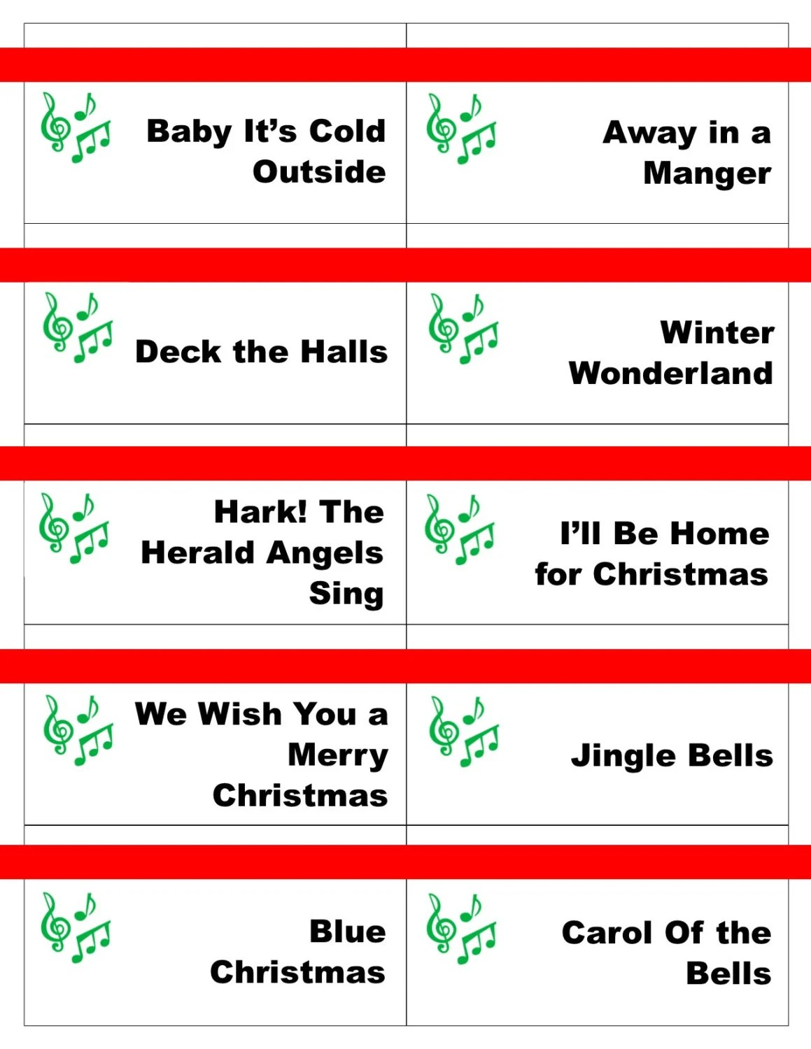 photo relating to Christmas Carol Games Printable named Enjoyment Xmas Occasion Suggestions For Grown ups. xmas carol online games