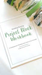 Project Block Workbook Vol 1 & Wedding Planning Guide- Digital File PDF DOWNLOAD: Plan your Wedding to the last detail Coordinating Template