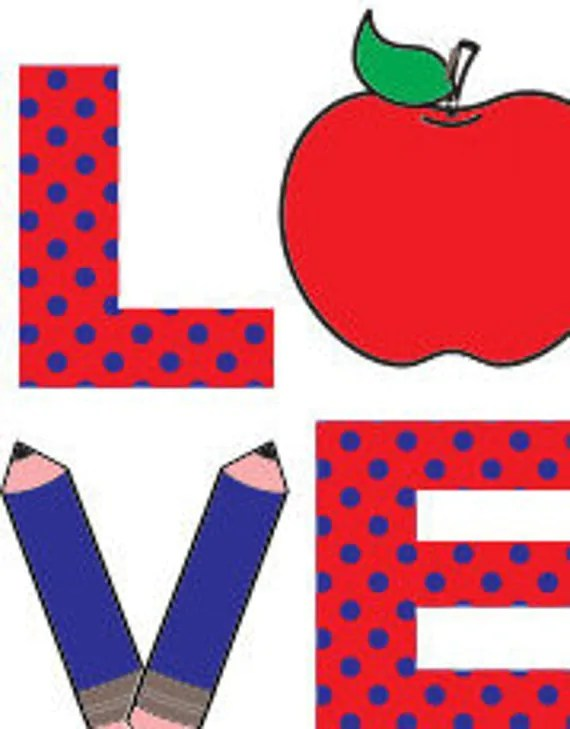 Download Teachers Love Pencil Apple SVG DXF Cutting File from ...