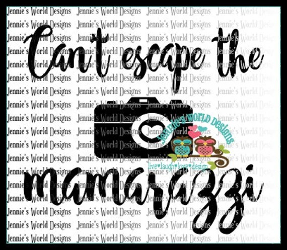 Download Mamarazzi funny camera heart SVG PNG Cut File