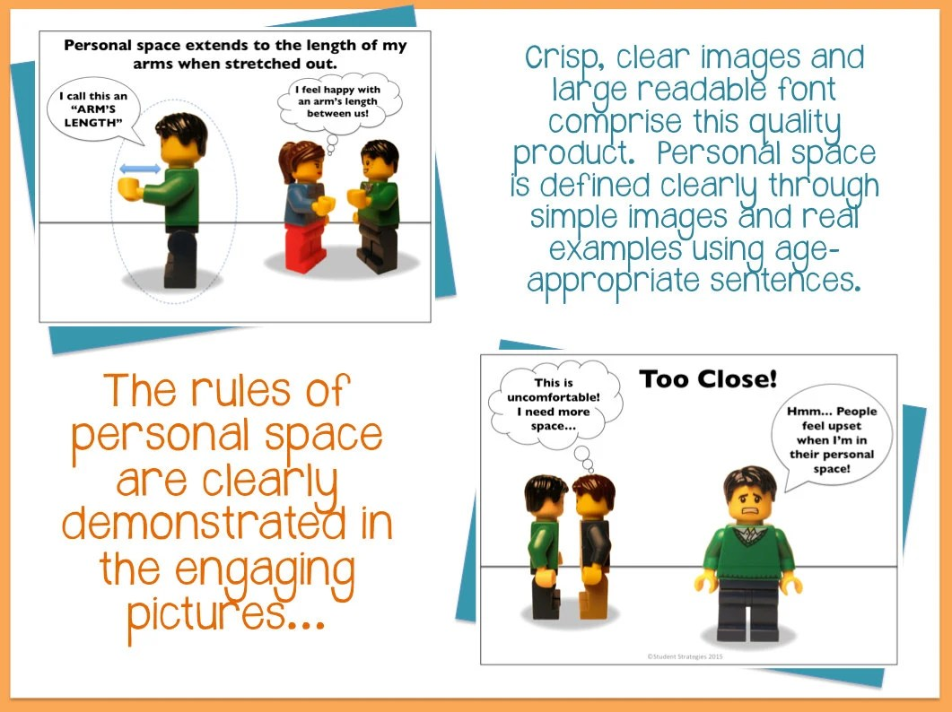 Personal Space Social Narrative Social Story By