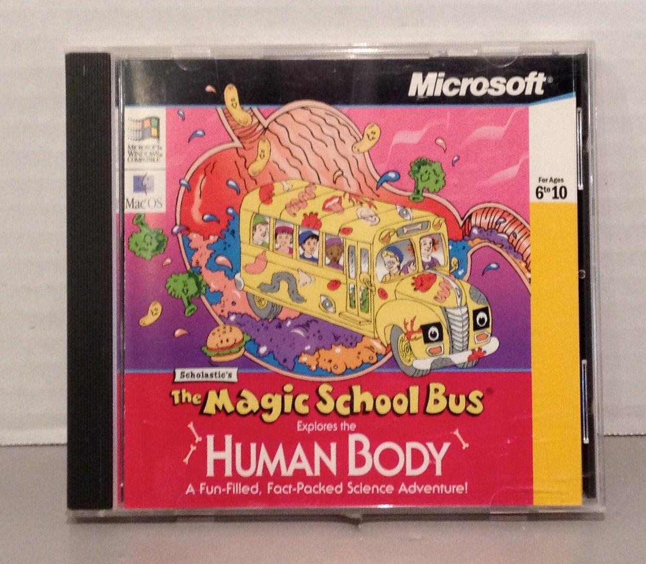 Vintage 90 S Scholastic S The Magic School Bus Human