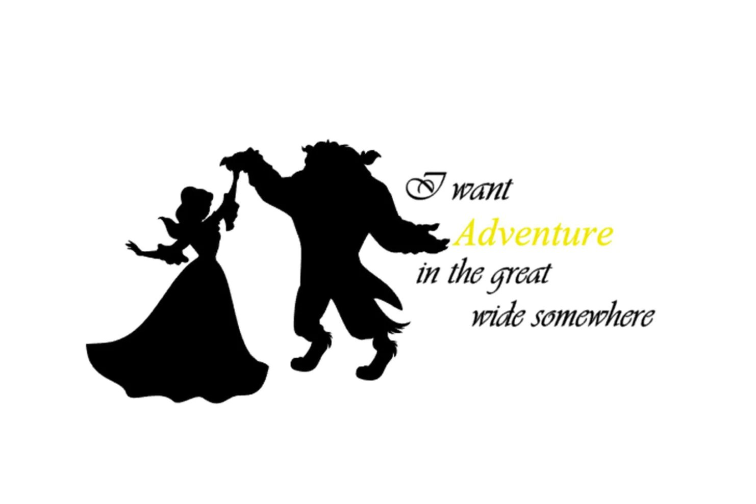 Beauty And The Beast Nursery Beauty And The Beast Wall Art