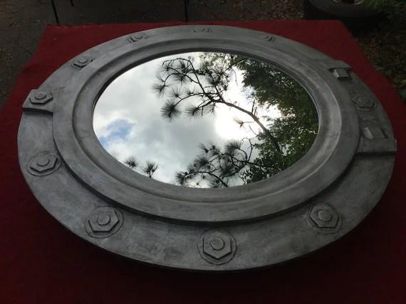 Large Porthole Mirror Medicine Cabinet