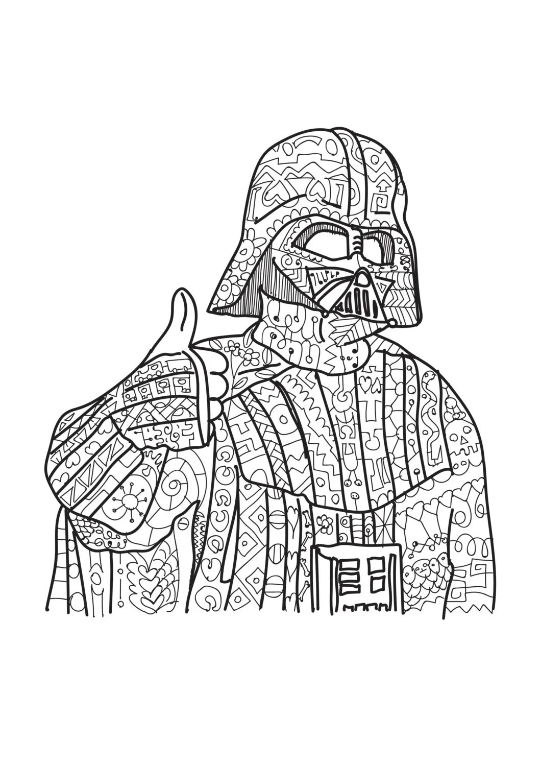 items similar to star wars coloring page millenium falcon