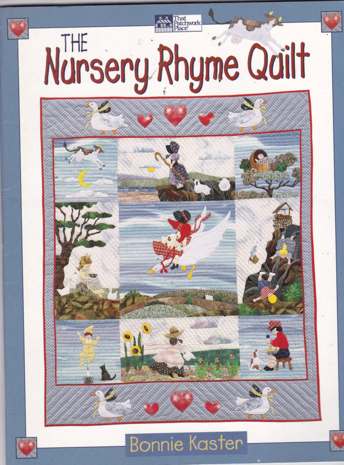 The Nursery Rhyme Quilt Pattern Book