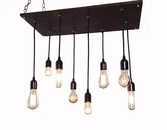 Edison Bulb Industrial Chandelier Modern Chandelier Urban