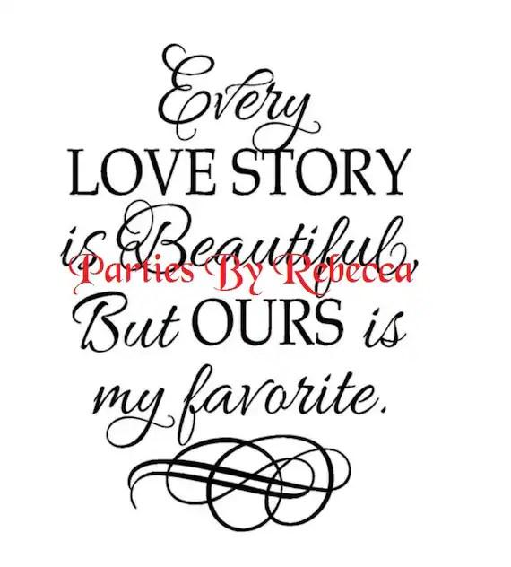Download Love story SVG digital File