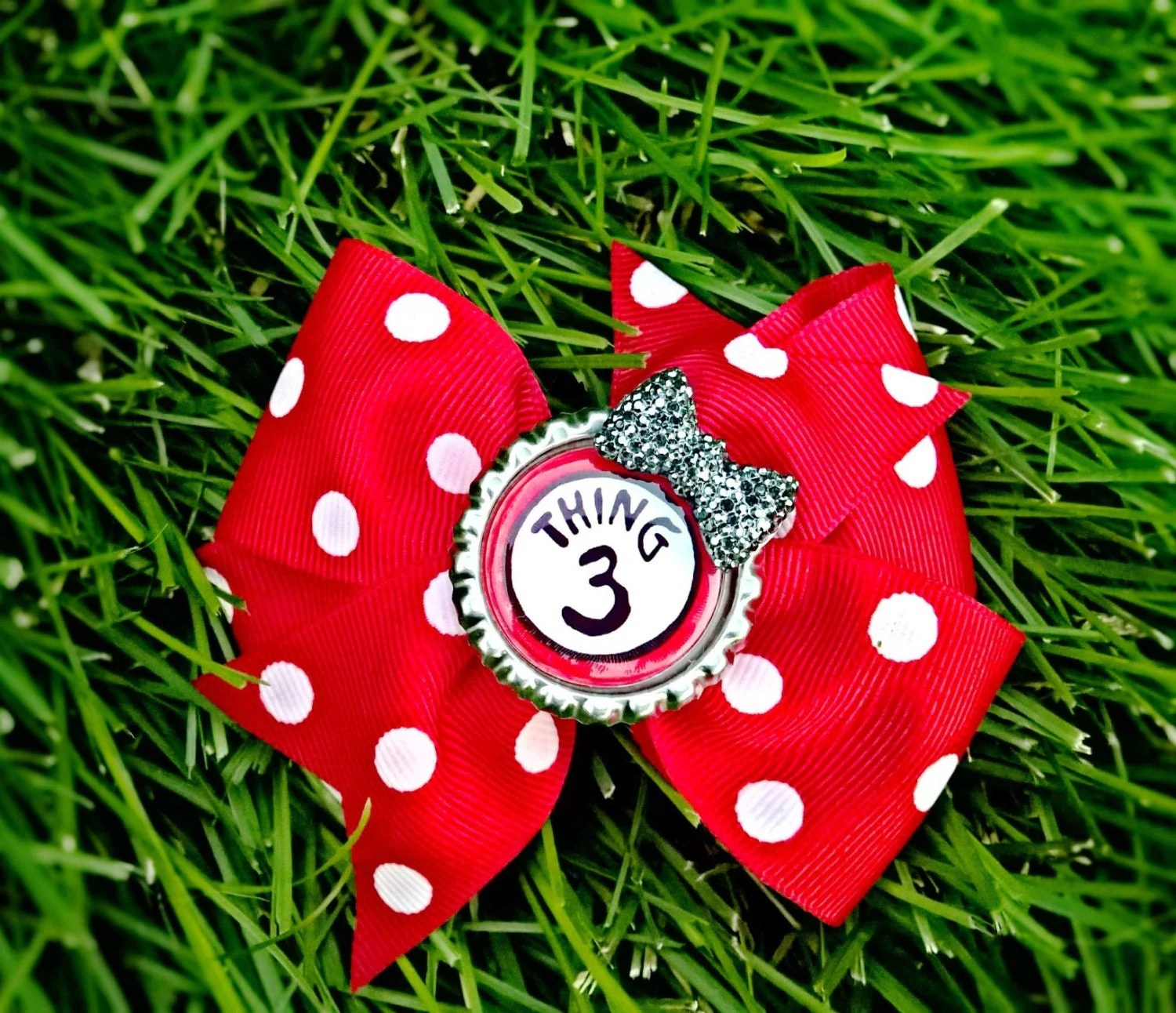 Dr Seuss Thing One And Thing Two Hair Bows