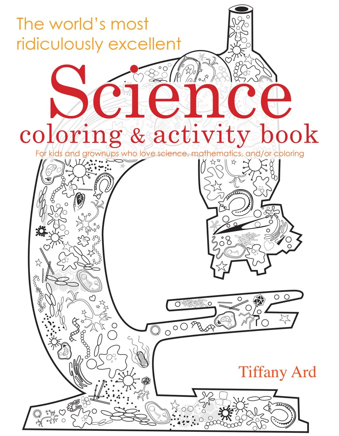 Science Coloring And Activity Book By Electricboogaloo On Etsy