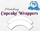 Matching CUPCAKE WRAPPER ...
