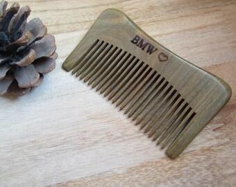items similar to personalized beard b wooden moustache shaped beard b custom engraved t