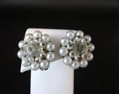 Vintage Faux Pearl and Cr...