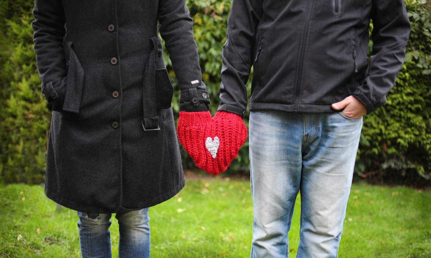 Items Similar To Couples Glove Lovers Mitten For Him And