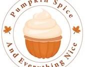Pumpkin Cupcake Cut File...
