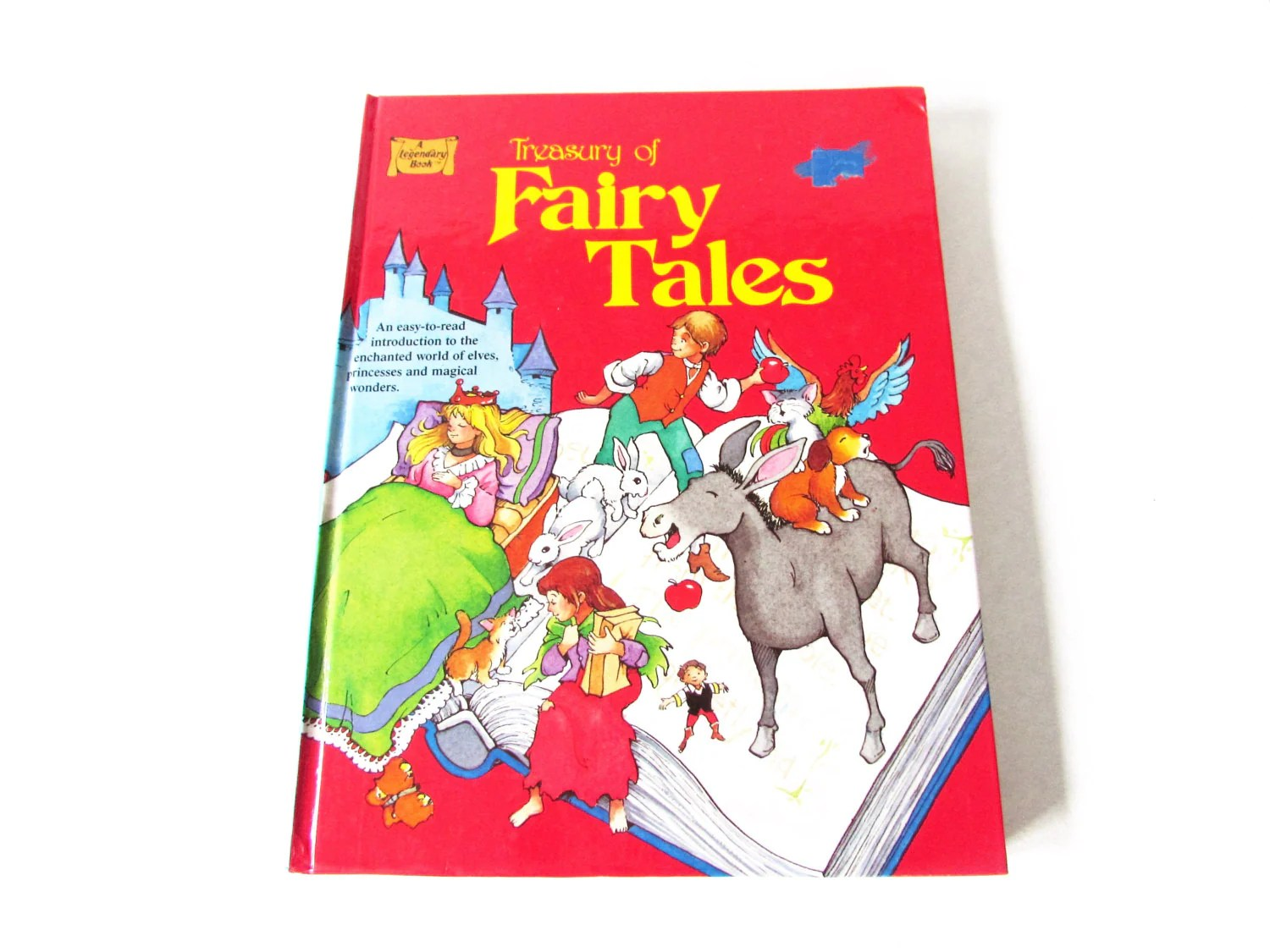 Treasury Of Fairy Tales Vintage Legendary Book