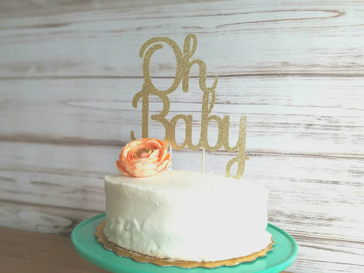 Baby Shower Cake Toppers