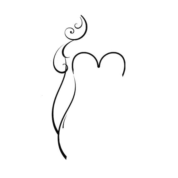 Curvy Female Silhouettes