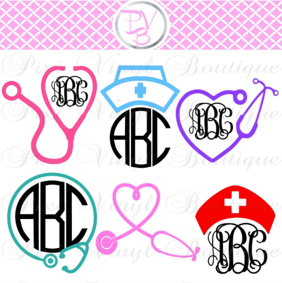 Download SVG // Nurse SVG Cut Files // Nurse Life // RN // Vinyl Cut