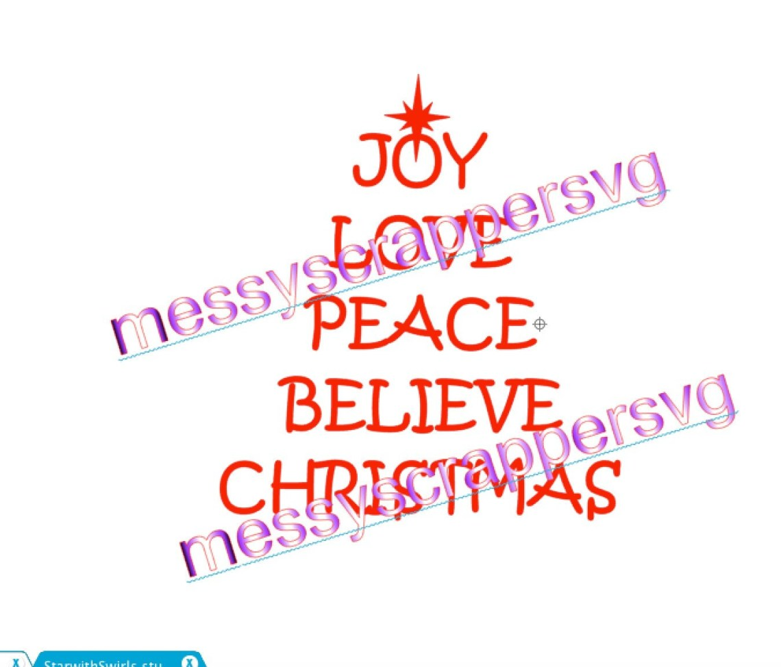 Download Christmas tree, Joy Love Peace Believe Christmas for the ...