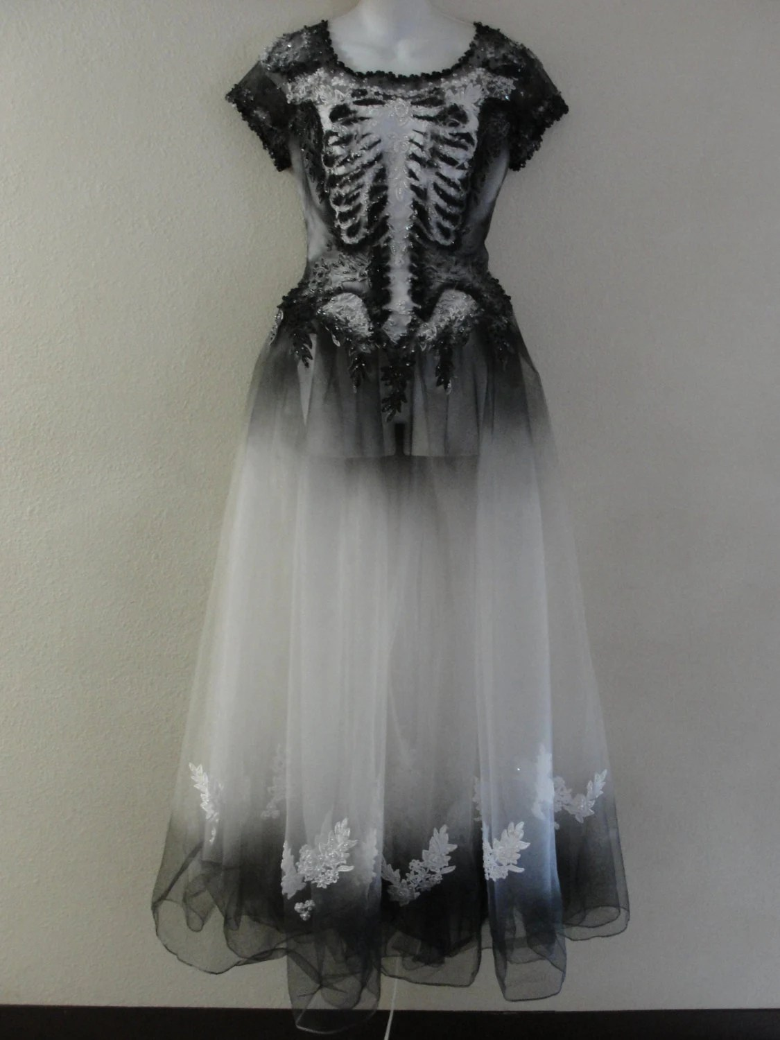 Day Of The Dead Halloween Costume Undead Corpse Bride Size 12
