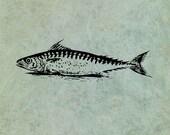 Fish LARGE - Antique Styl...