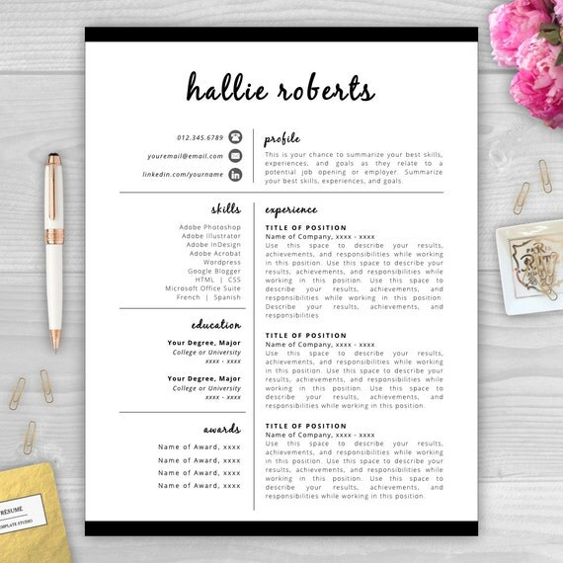 resume cover letter modern resume professional resume free resume