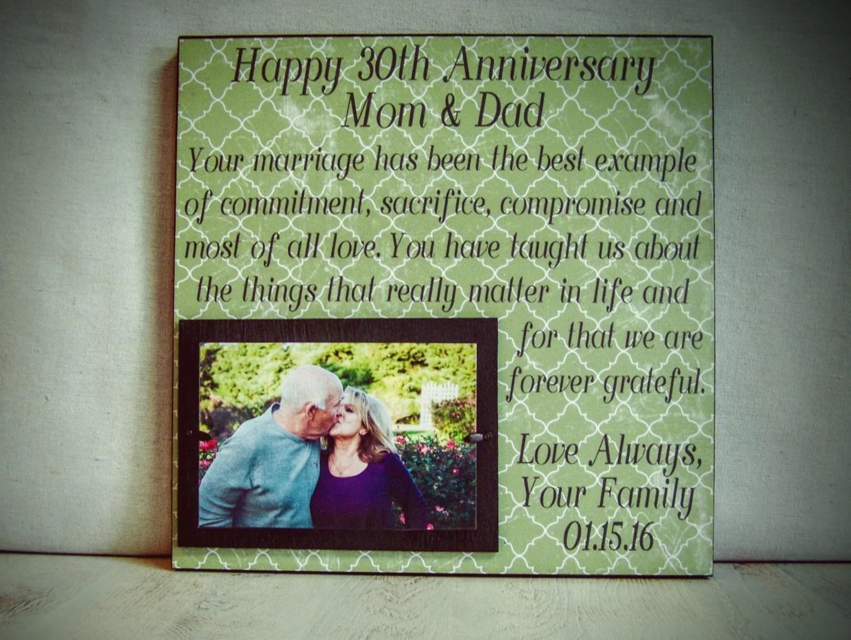 Personalized Anniversary Frame Wedding Anniversary