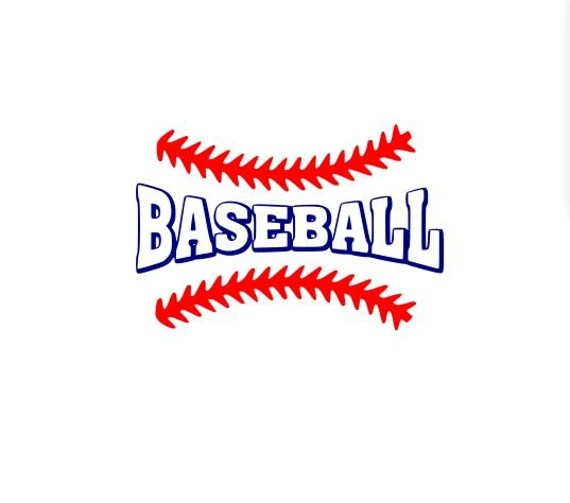 Download Items similar to Baseball with laces svg file for Cricut ...