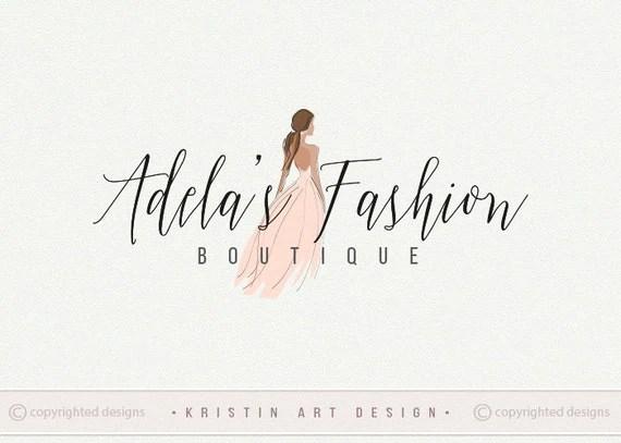 Fashion Logo Design Clothes Logo Boutique Logo Elagant