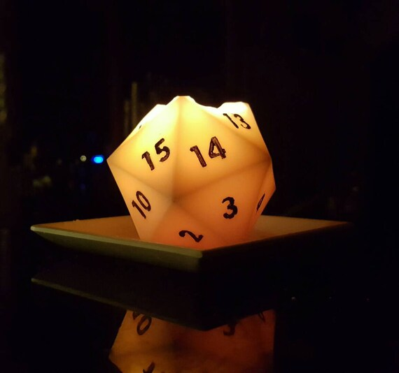 D20 Scented Candle