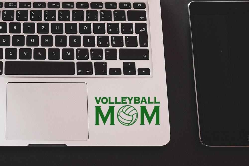 Volleyball Mom Vinyl Stickers