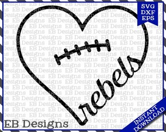 Download Rebel heart | Etsy