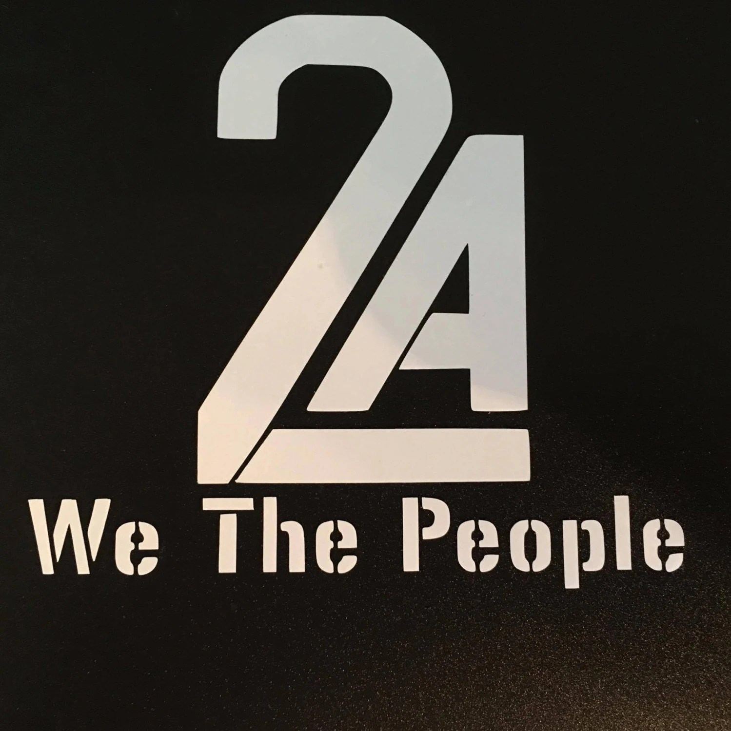 2nd Amendment 2a We The People Vinyl Decal By Rhodydesigns
