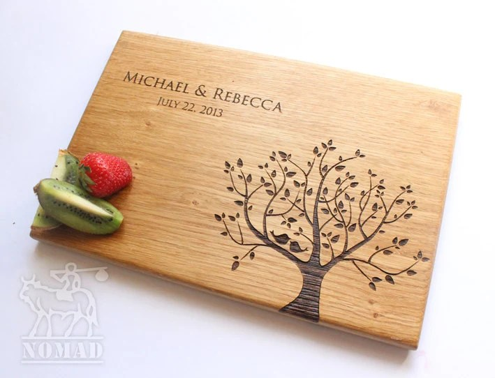 Personalized Cutting Board Wedding Gift Cutting Board Gift