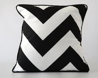 Online Get Cheap Black White Striped Throw Pillow Case Cover